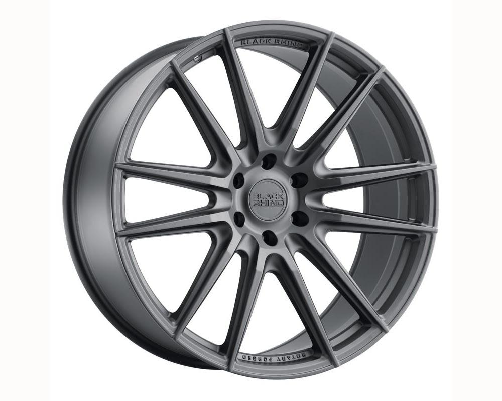 Black Rhino Madagascar Wheel 22x10 6x139.70 20 Matte Black