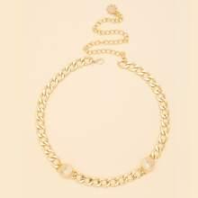 Cinturon de cadena minimalista