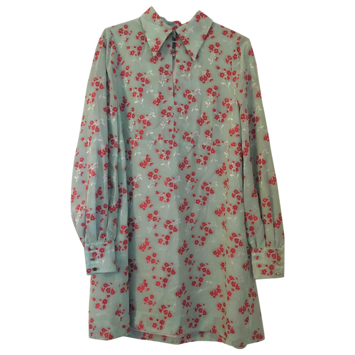 Baum Und Pferdgarten \N Kleid in  Gruen Synthetik