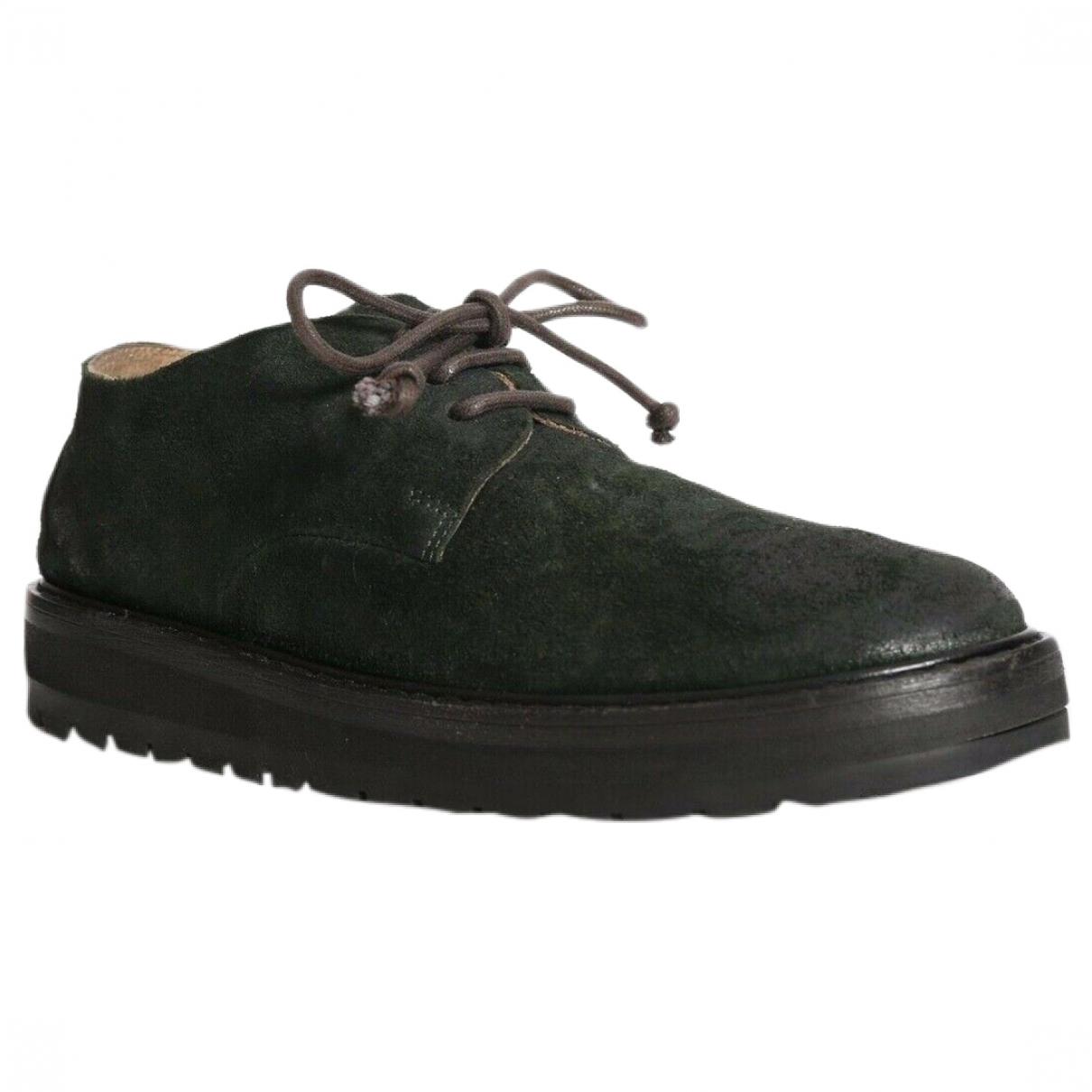 Marsèll \N Black Leather Flats for Women 36 EU