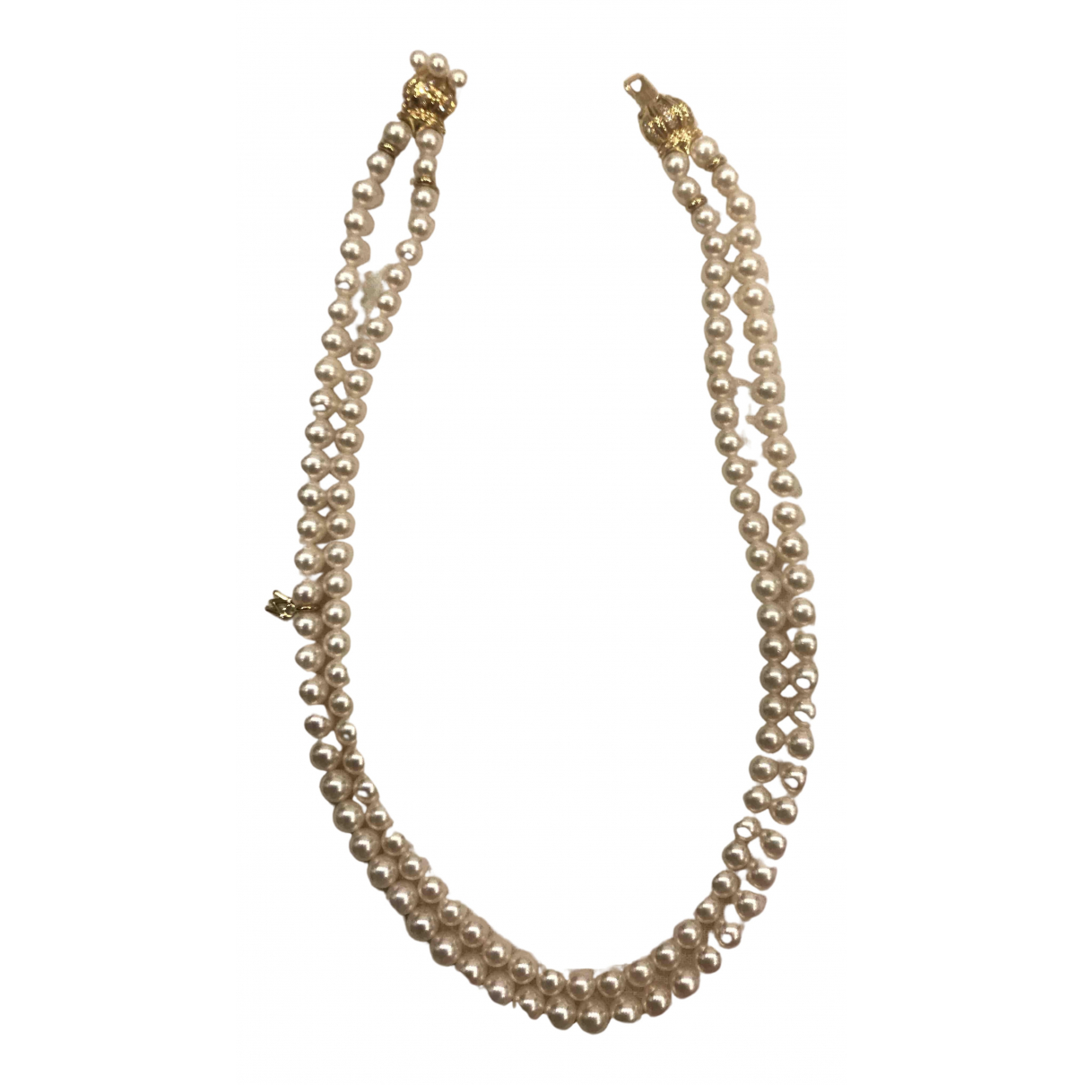 Mikimoto N White Pearls necklace for Women N