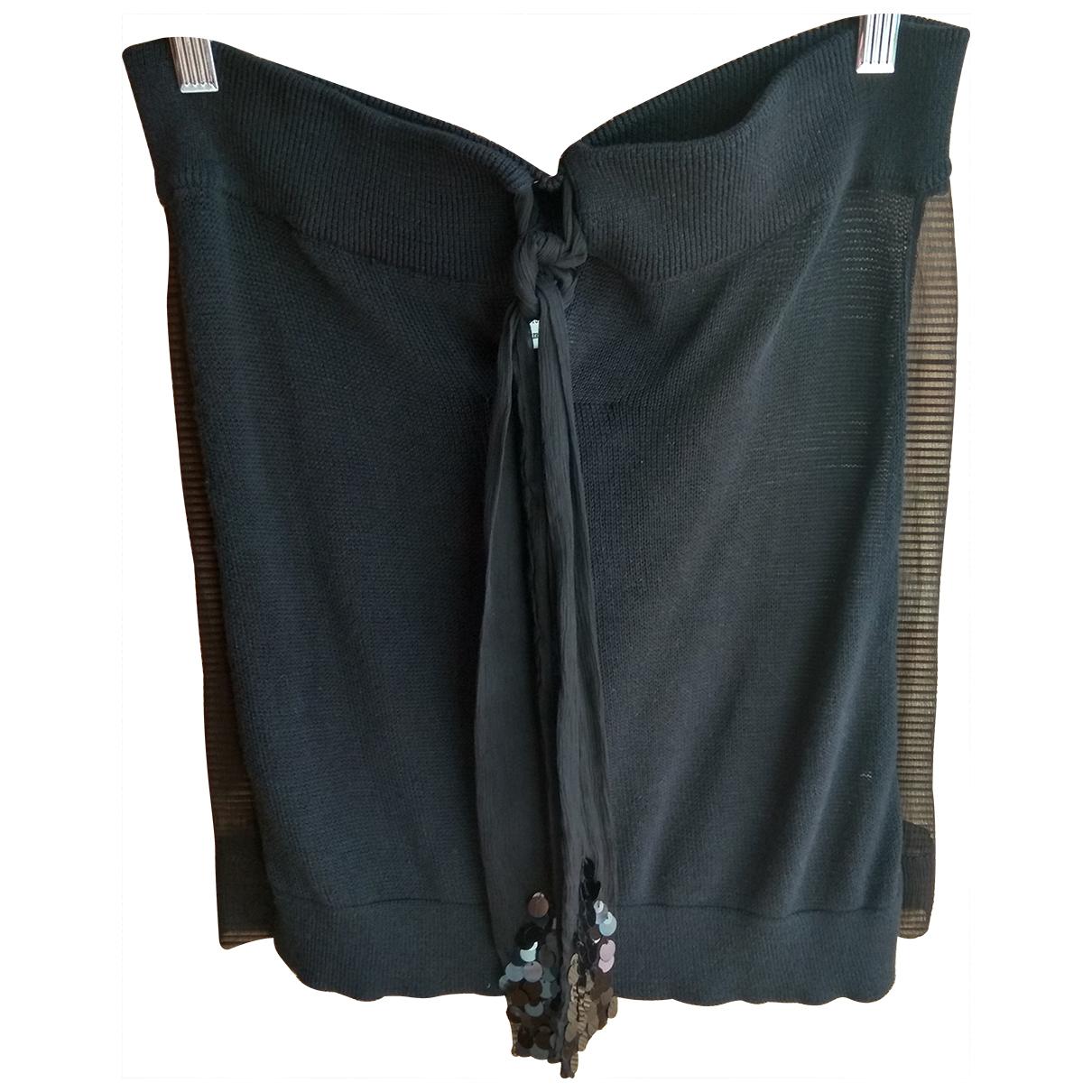 Twin Set \N Black Silk  top for Women S International
