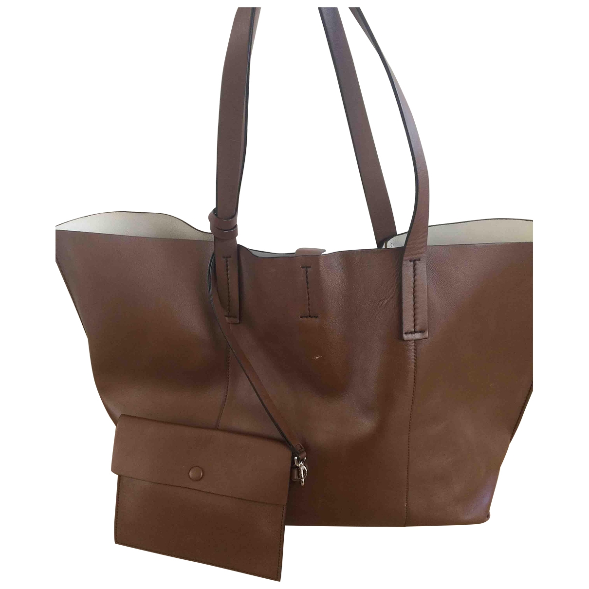 By Malene Birger \N Brown Leather Travel bag for Women \N