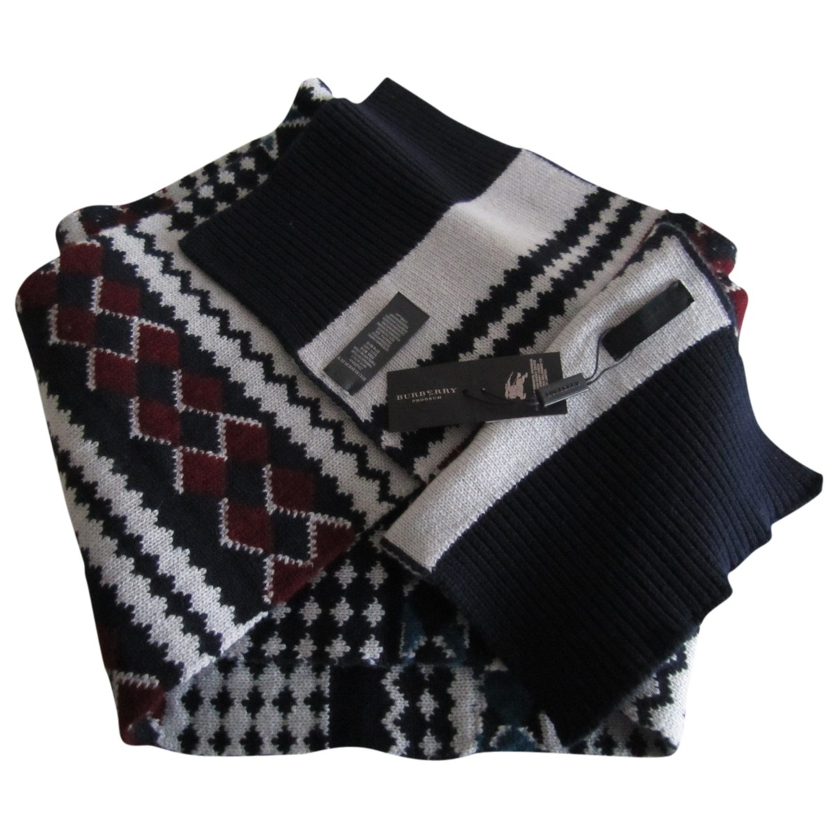 Burberry \N Multicolour Cashmere scarf & pocket squares for Men \N