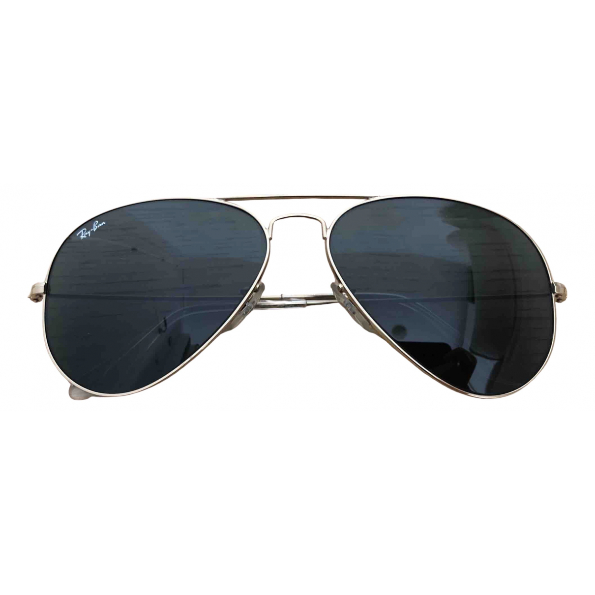 Ray-ban Aviator Gold Metal Sunglasses for Women N