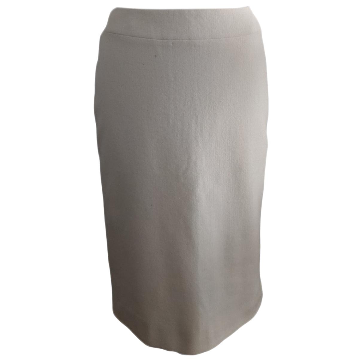 Jil Sander \N Ecru Cashmere skirt for Women 40 FR