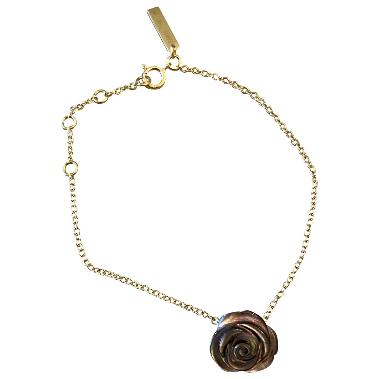 Morganne Bello \N Armband in  Gold Gelbgold