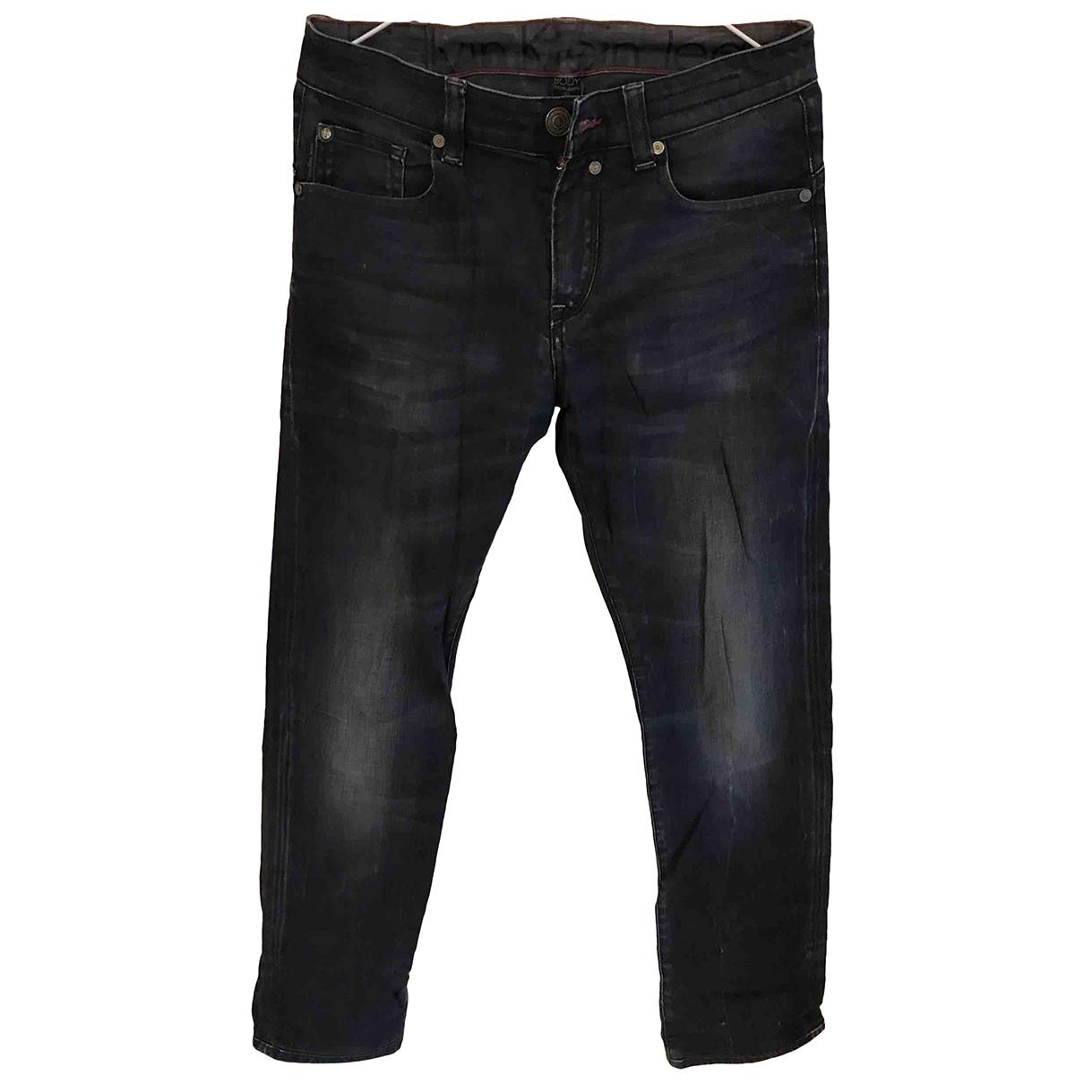 Calvin Klein \N Blue Cotton Jeans for Men 30 UK - US