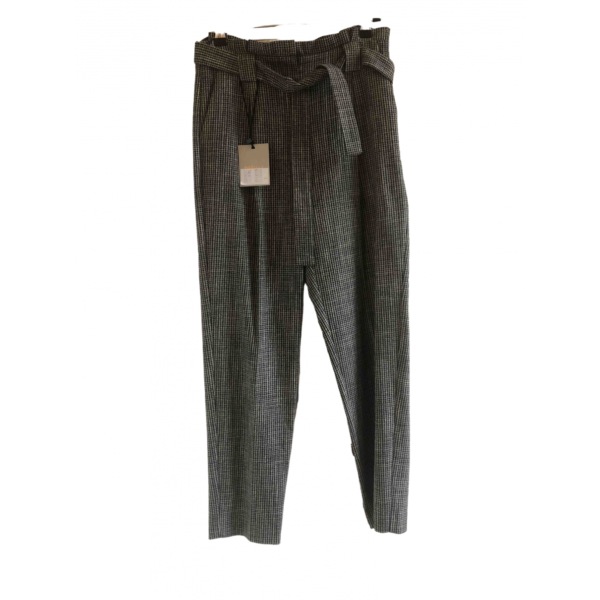 Marella \N Black Trousers for Women 38 IT