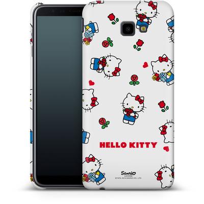 Samsung Galaxy J4 Plus Smartphone Huelle - Hello Kitty Flower Pattern von Hello Kitty