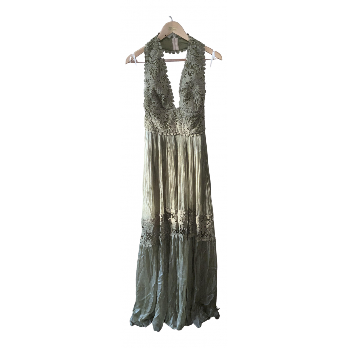 Maria Lucia Hohan N Green Cotton dress for Women 8 UK