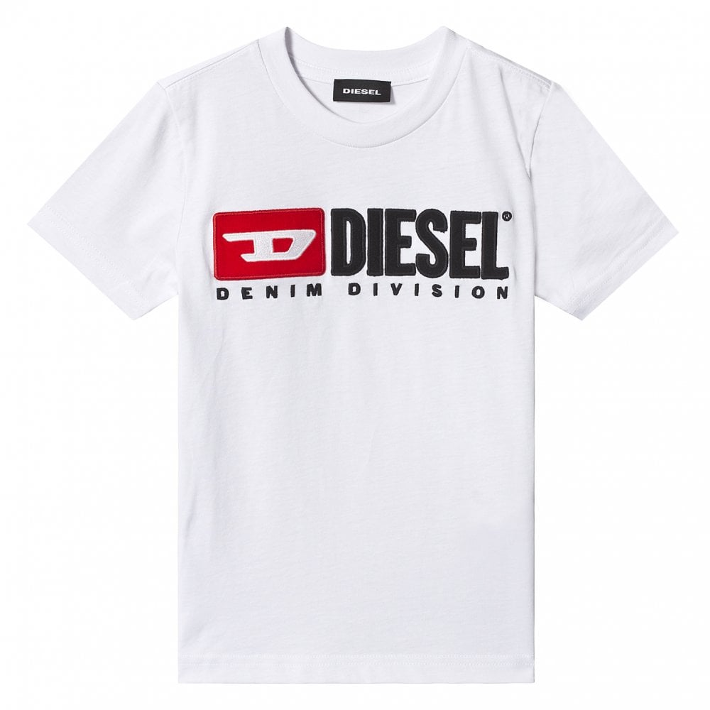Diesel Tjustdivision Colour: WHITE, Size: 12 YEARS