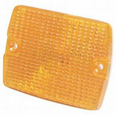 Crown Automotive Front Parking Light Lens (Amber) - 56001378