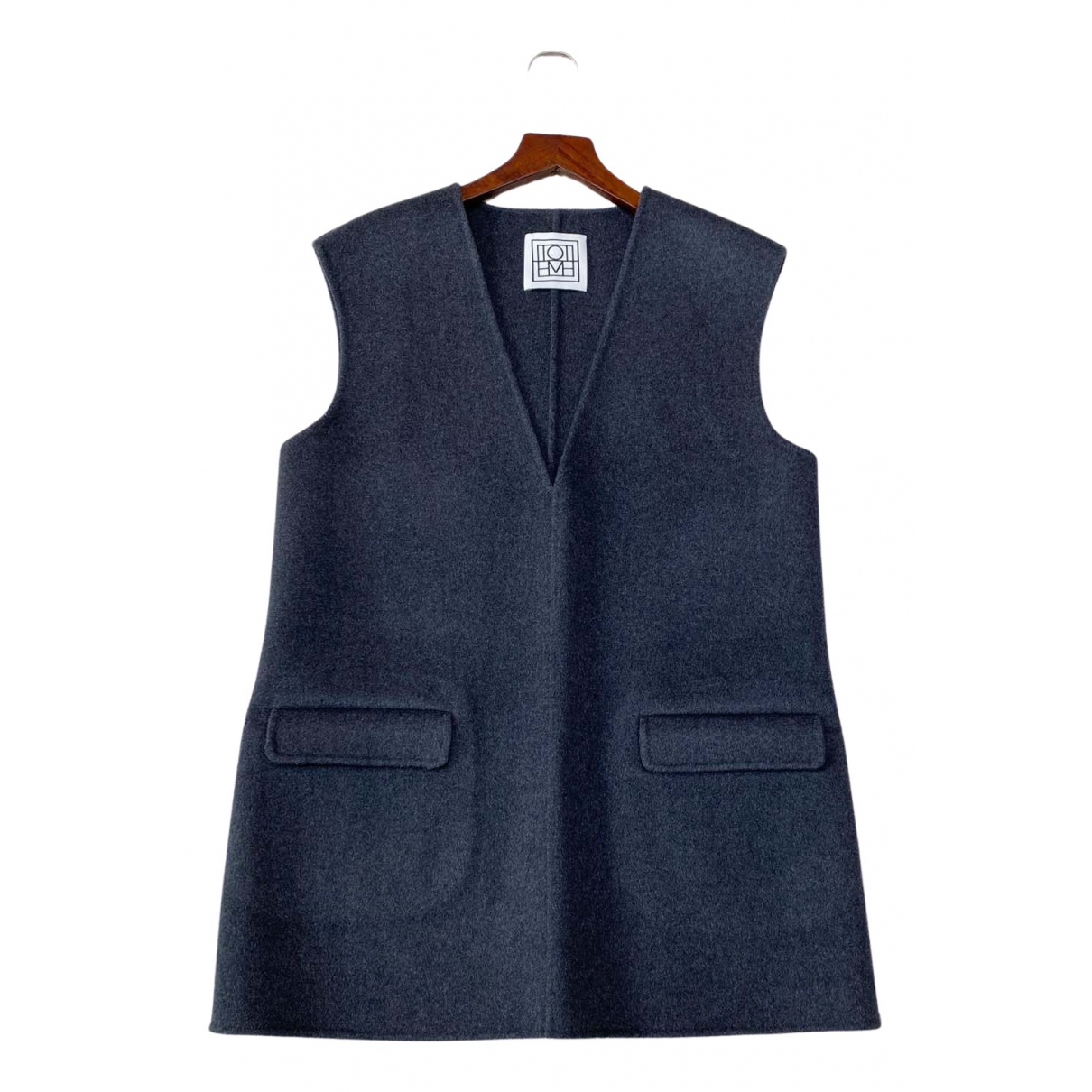 Totême N Grey Wool coat for Women S International
