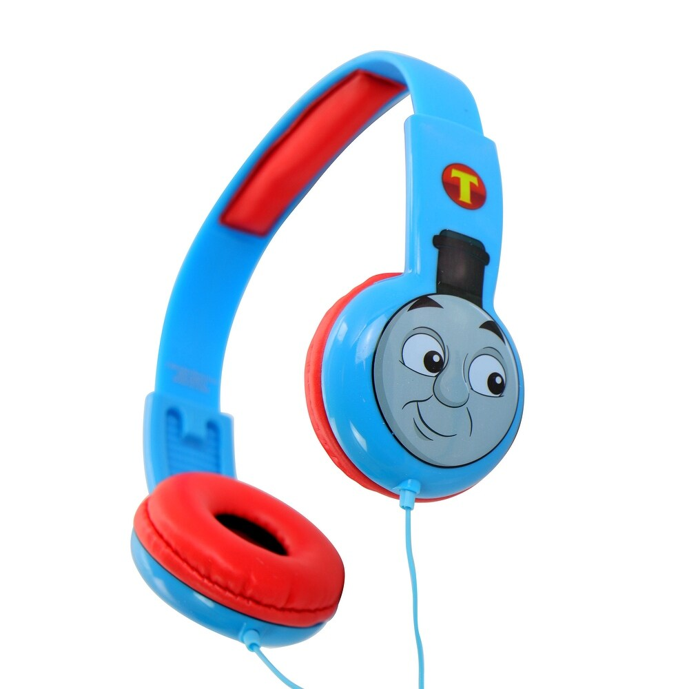Thomas and Friends Kids Safe Wired Headphones (Blue/Red)