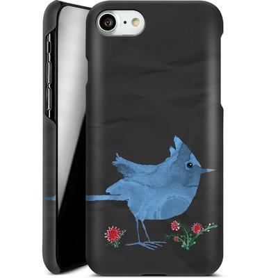 Apple iPhone 7 Smartphone Huelle - Watercolour Bird Black von caseable Designs