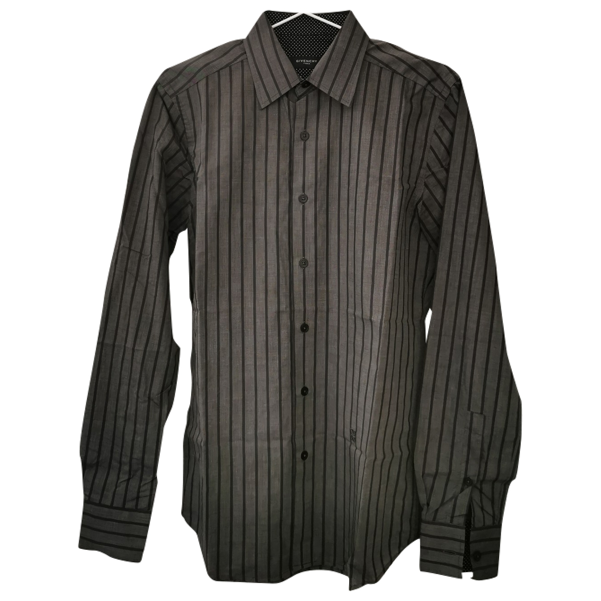 Givenchy - Chemises   pour homme en coton - gris