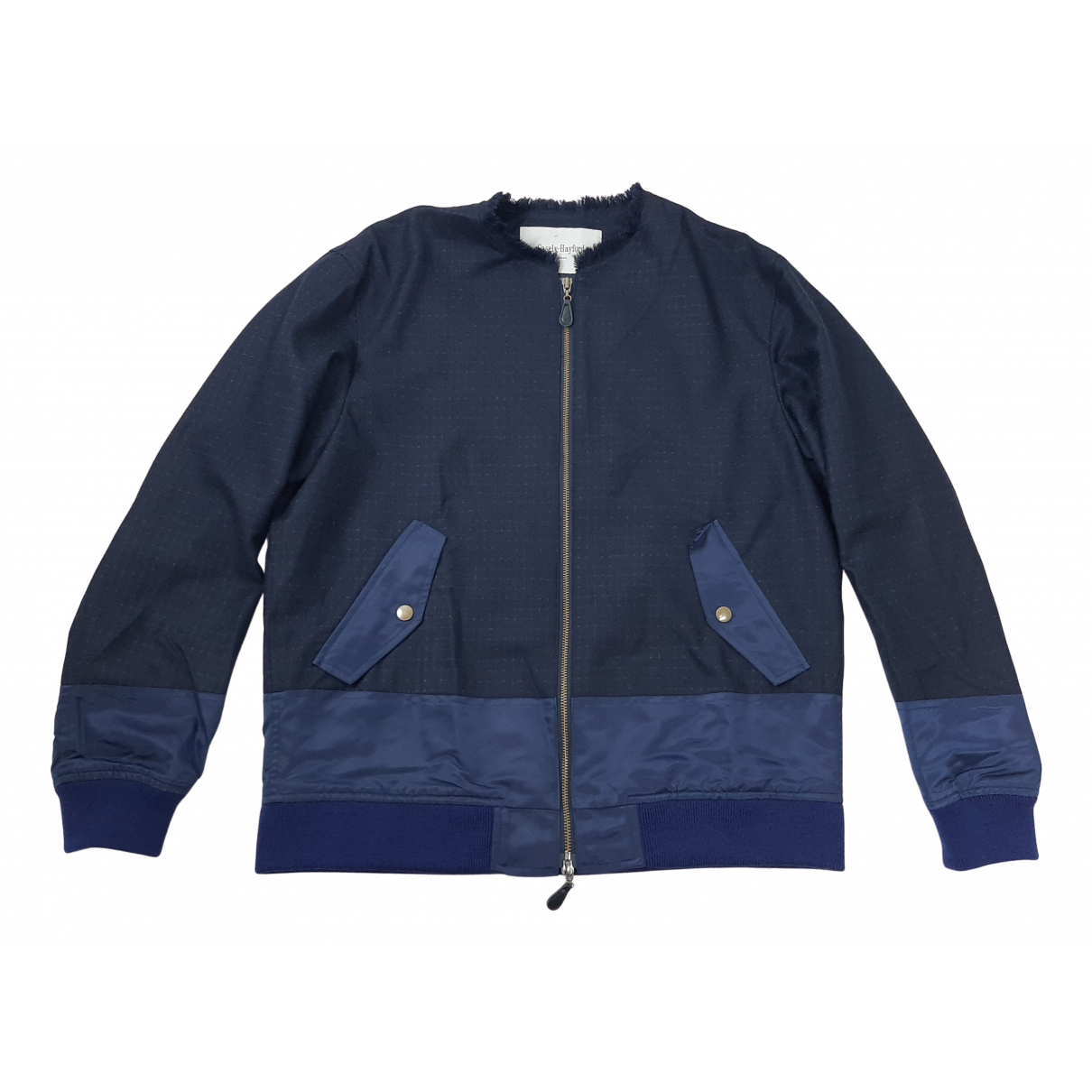 Casely-hayford \N Jacke in  Marine Wolle