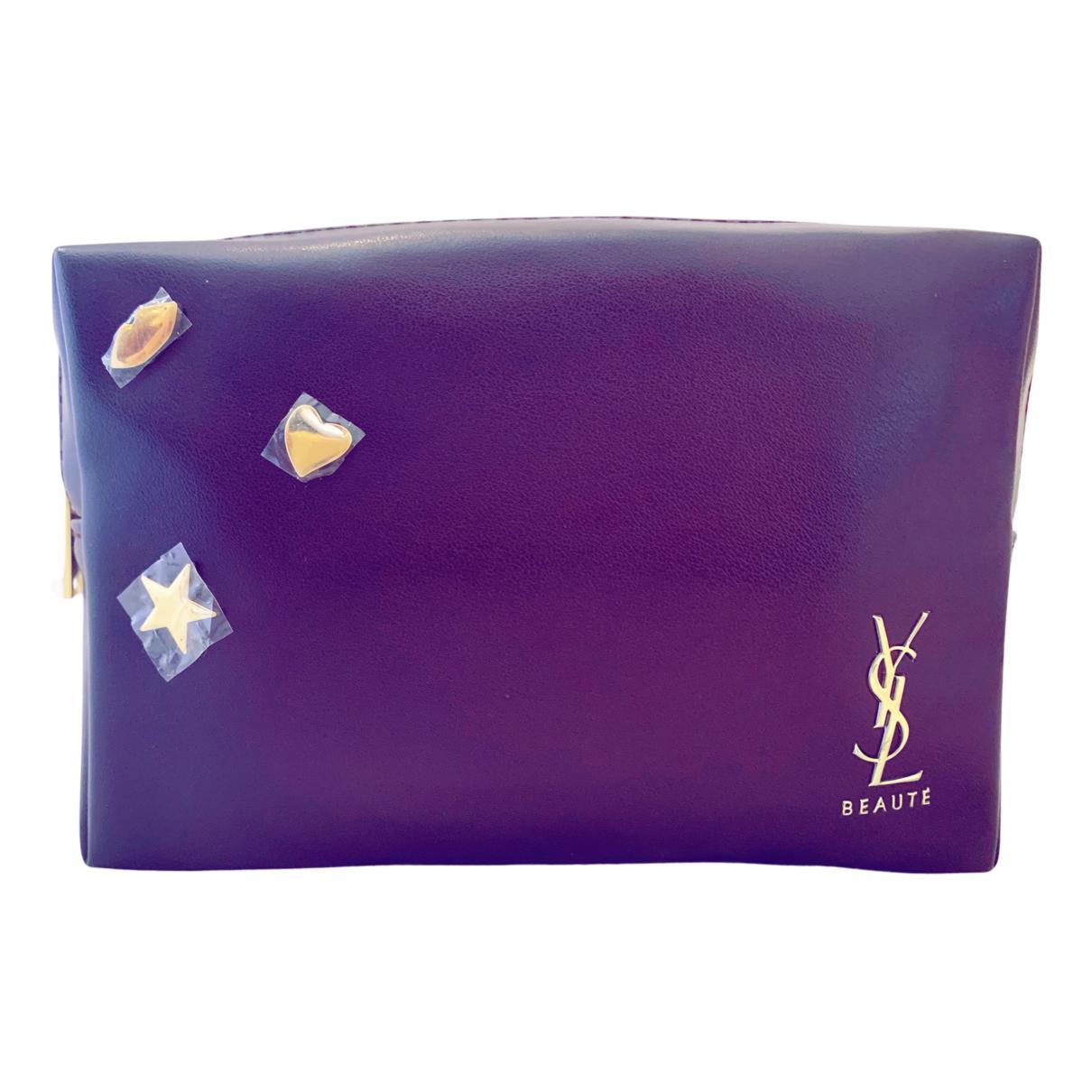 Yves Saint Laurent - Sac de voyage   pour femme - violet