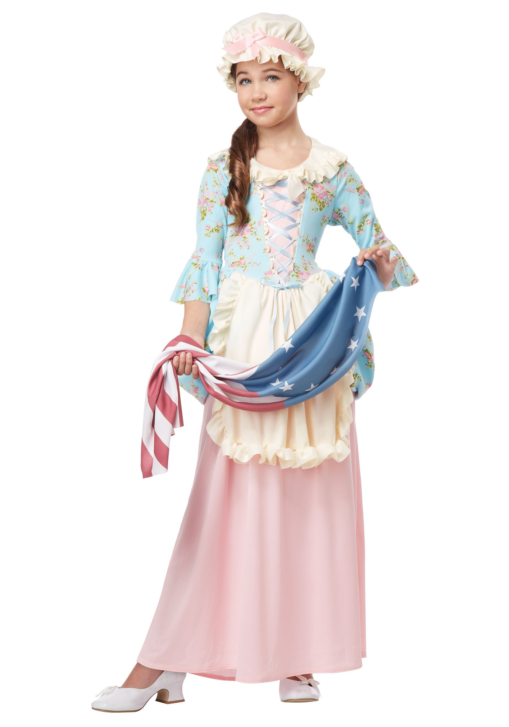 Colonial Lady Costume for Girls