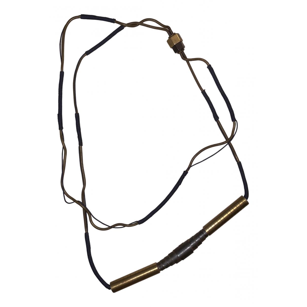 Lanvin - Bijoux   pour homme en metal - dore