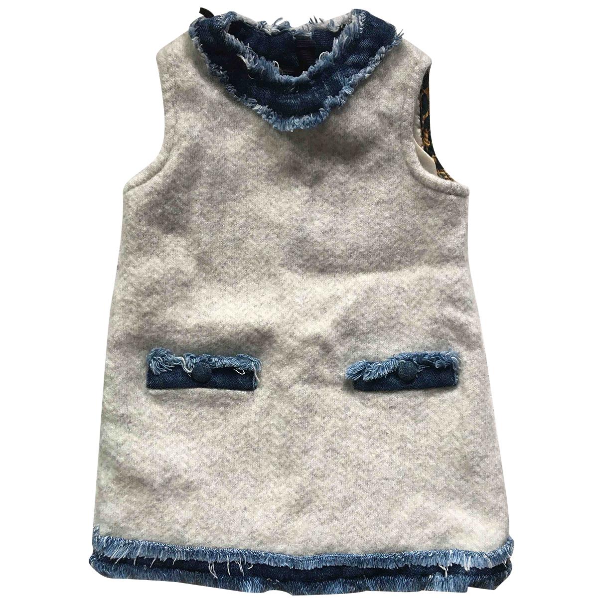 D&g - Robe    pour enfant en laine - gris