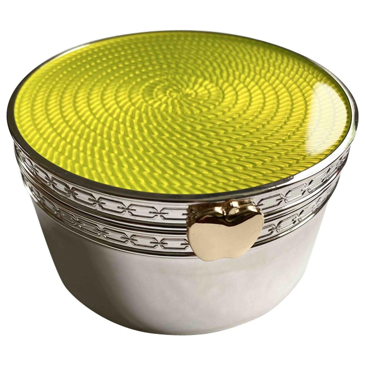 Vera Wang - Objets & Deco   pour lifestyle en plaque argent - jaune