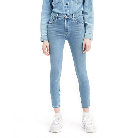 Levi's 720 High Rise Super Skinny Cropped Jean, 34 , Blue