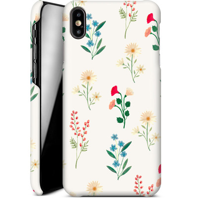 Apple iPhone XS Max Smartphone Huelle - Leafy Green von Iisa Monttinen