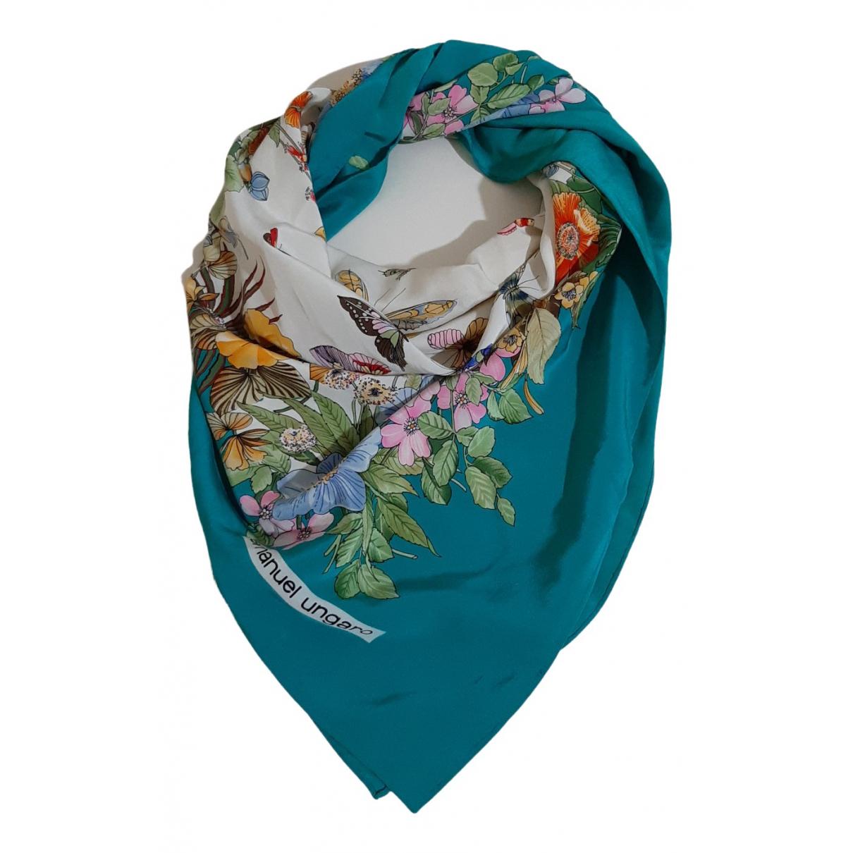 Emanuel Ungaro \N Multicolour Silk scarf for Women \N