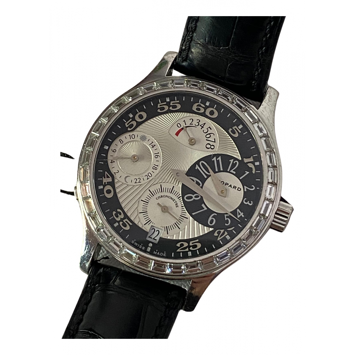 Relojes L.U.C.  de Oro blanco Chopard