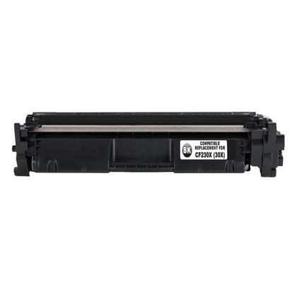 Compatible HP 30X CF230X Black Toner Cartridge High Yield With Chip - Economical Box