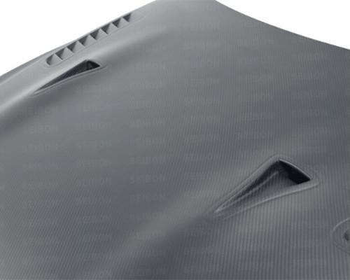Seibon HD0910NSGTR-ES-DRY ES Style Dry Carbon Fiber Hood Nissan GT-R R35 09-20