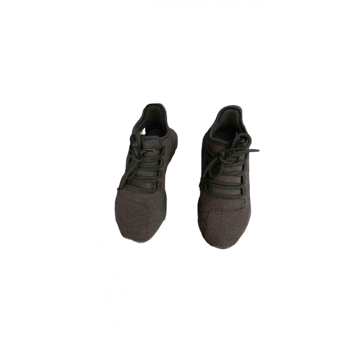 Adidas Tubular Sneakers in  Schwarz Leinen