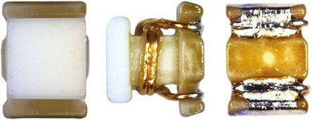 Murata , LQW2BH, 0805 (2012M) Wire-wound SMD Inductor with a Ferrite Core, 150 nH ±2% Wire-Wound 260mA Idc Q:30 (10)
