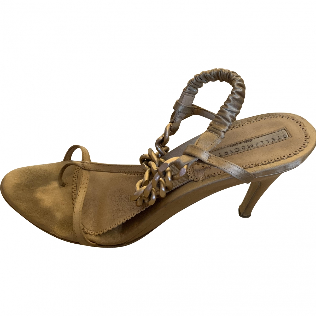 Stella Mccartney \N Ecru Sandals for Women 38 EU
