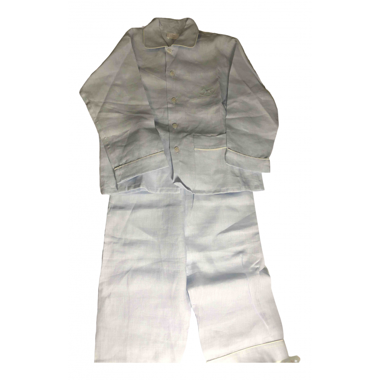 Hermès \N Blue Linen Outfits for Kids 2 years - until 34 inches UK
