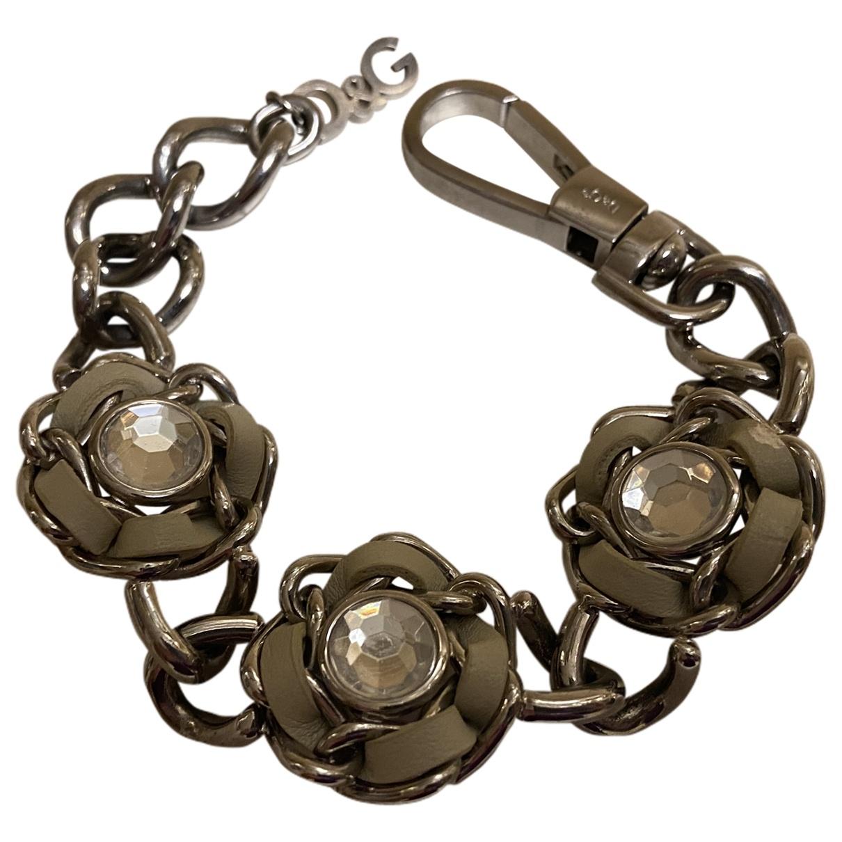 Dolce & Gabbana - Bracelet   pour femme en acier - argente