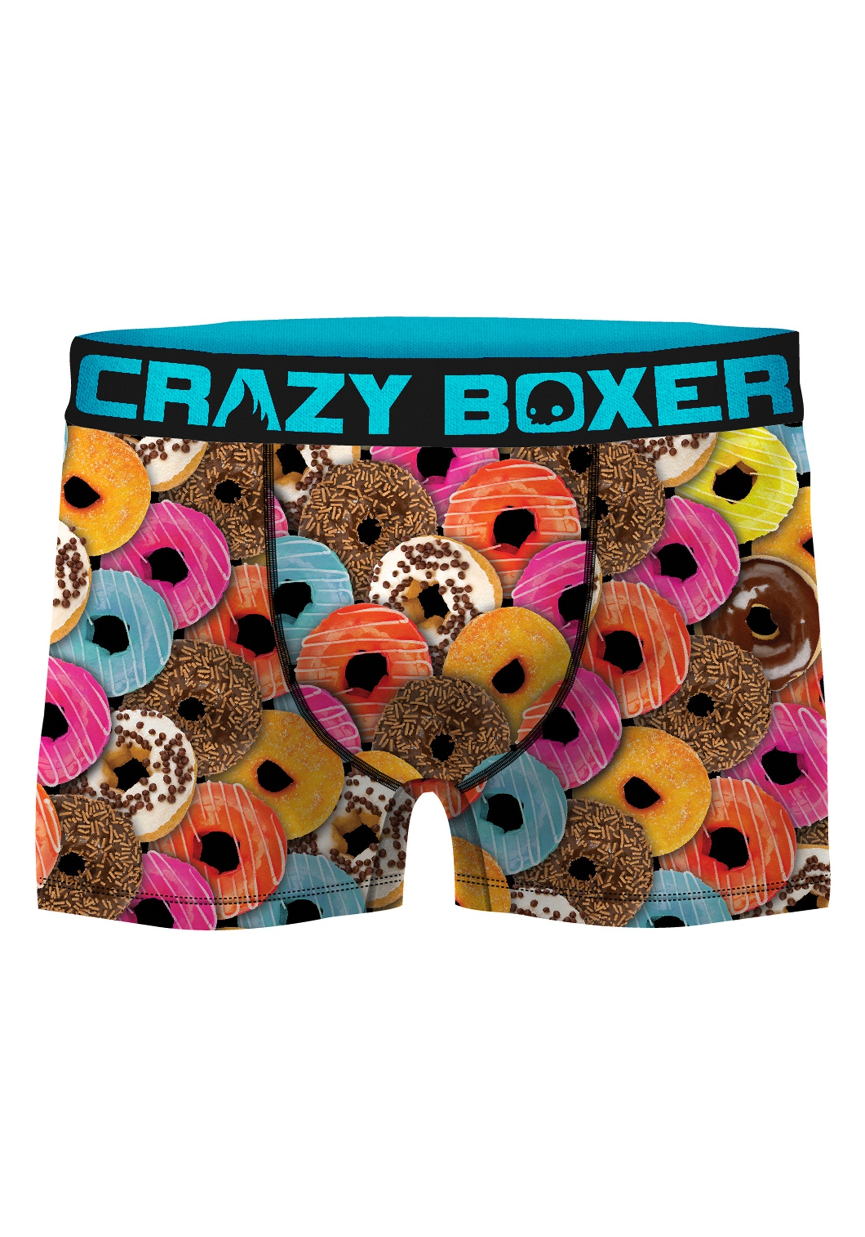 Mens Crazy Boxers Donuts Boxer Briefs