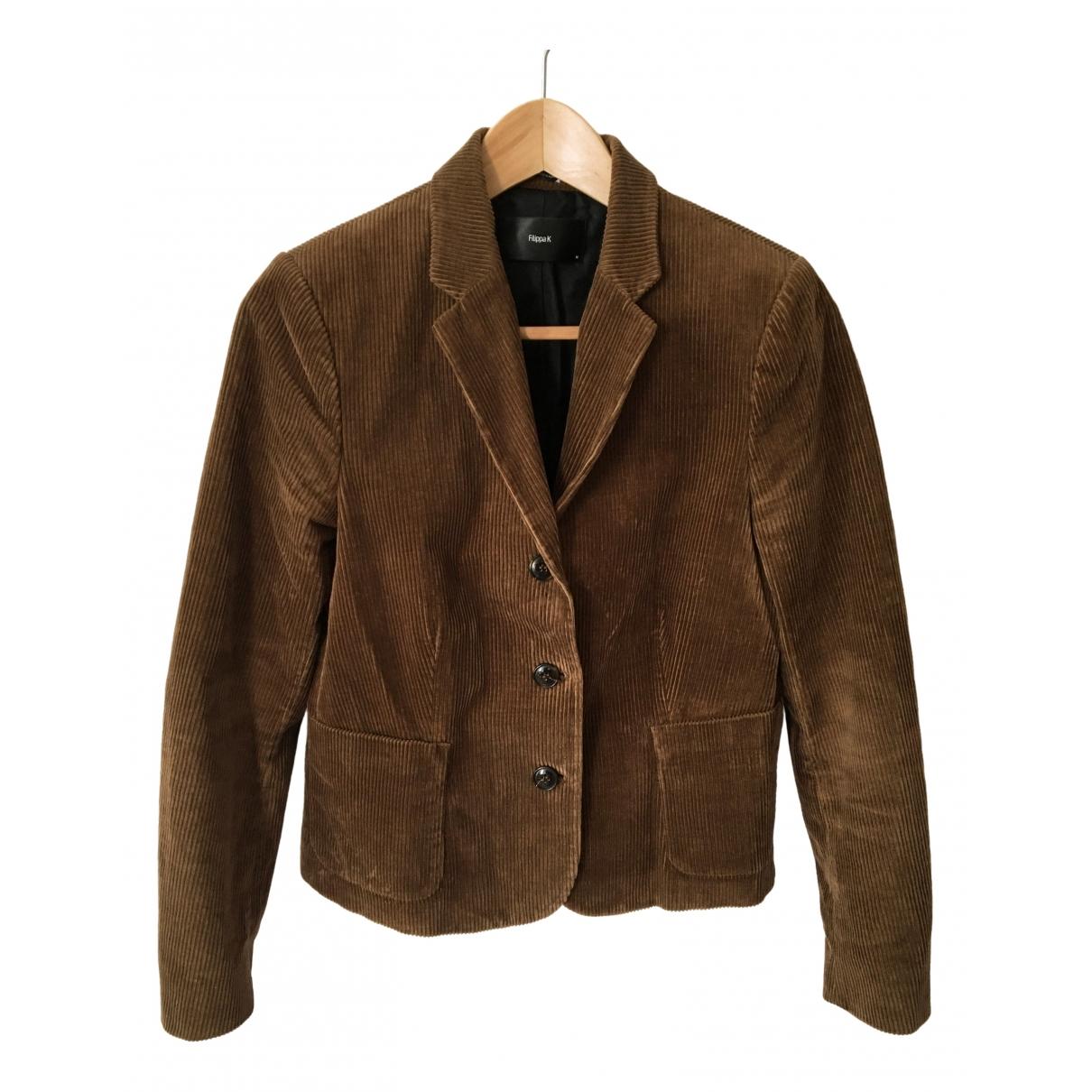 Filippa K \N Brown Cotton jacket for Women M International