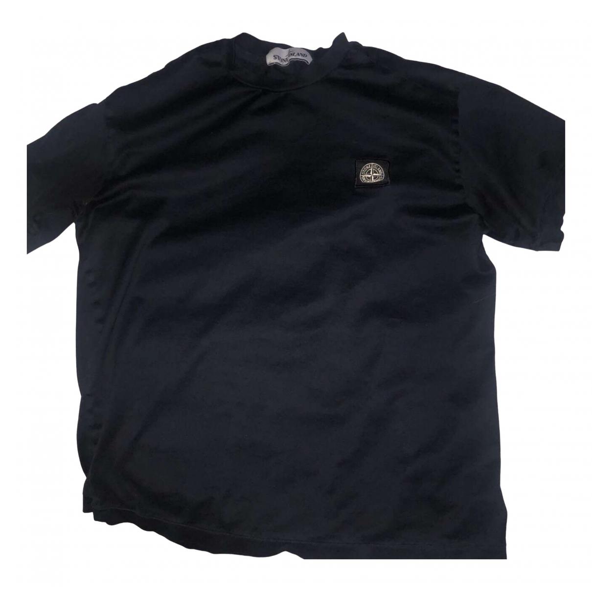 Stone Island \N Black Cotton T-shirts for Men XS International