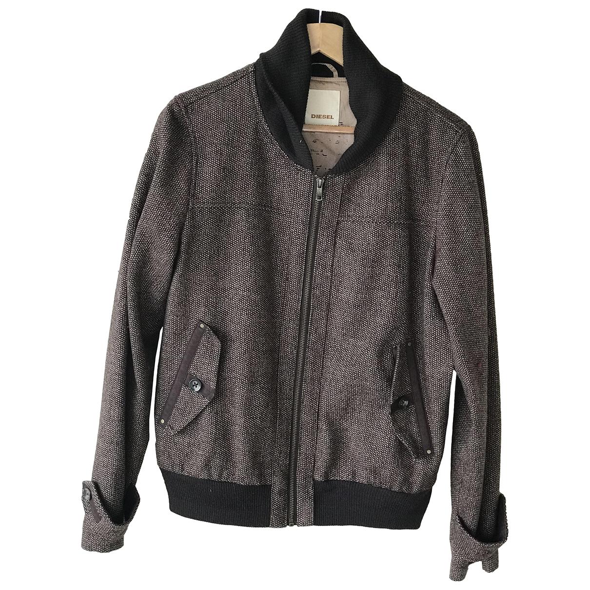 Diesel \N Brown Cotton jacket for Women M International