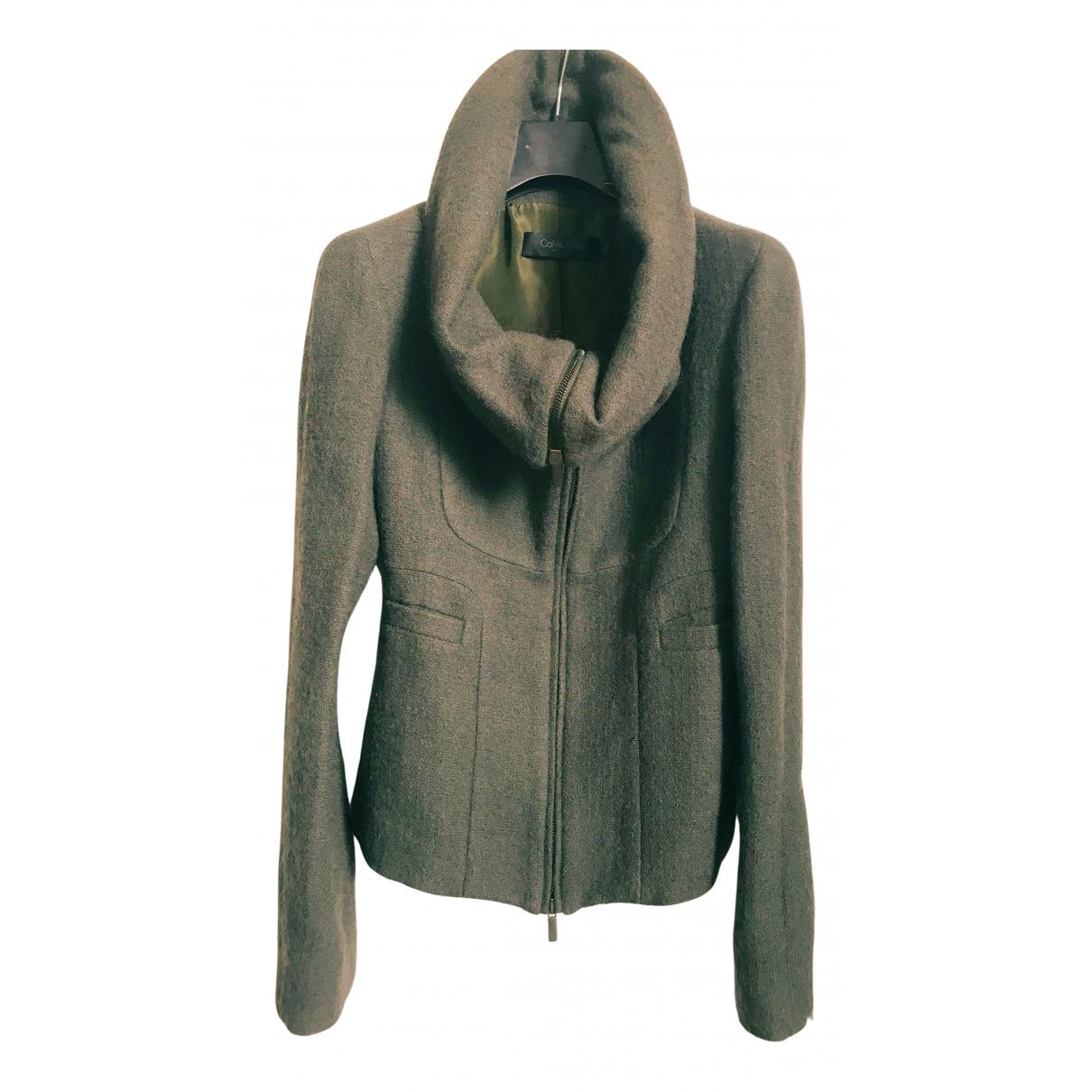 Calvin Klein Collection - Veste   pour femme en laine - vert