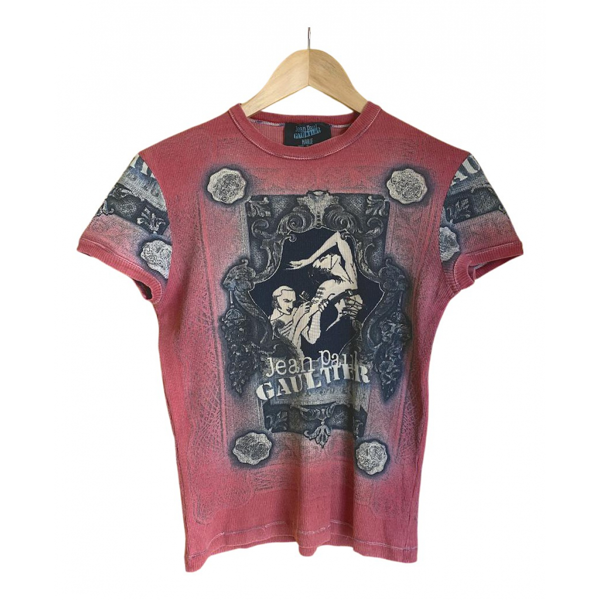 Jean Paul Gaultier N Red Cotton  top for Women L International