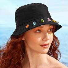 Bear Decor Bucket Hat