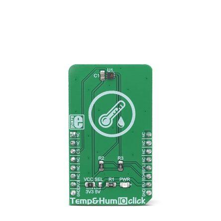 MikroElektronika MIKROE-3342, Temp&Hum 10 Click Temperature & Humidity Sensor for BPS230