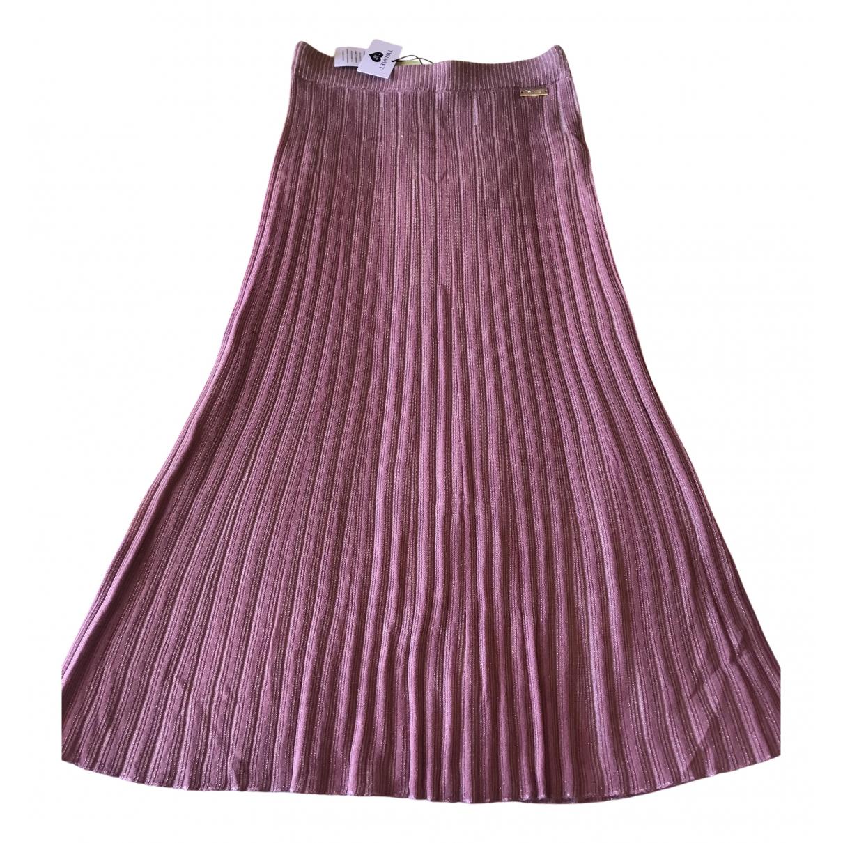 Falda midi de Lana Twin Set