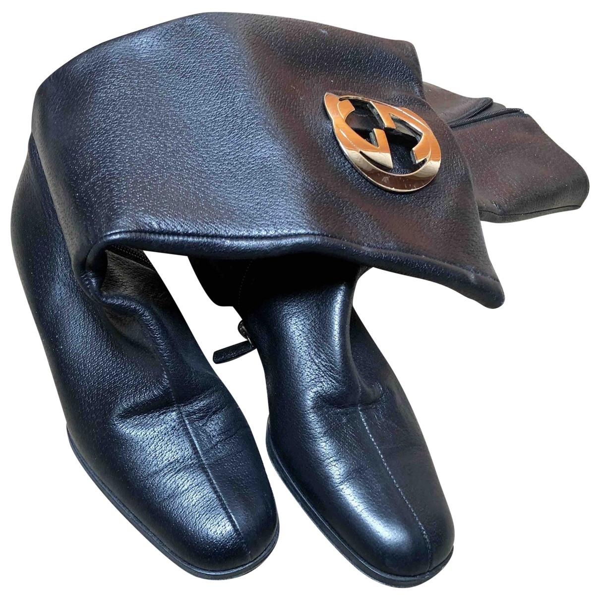 Botas altas de Cuero Gucci