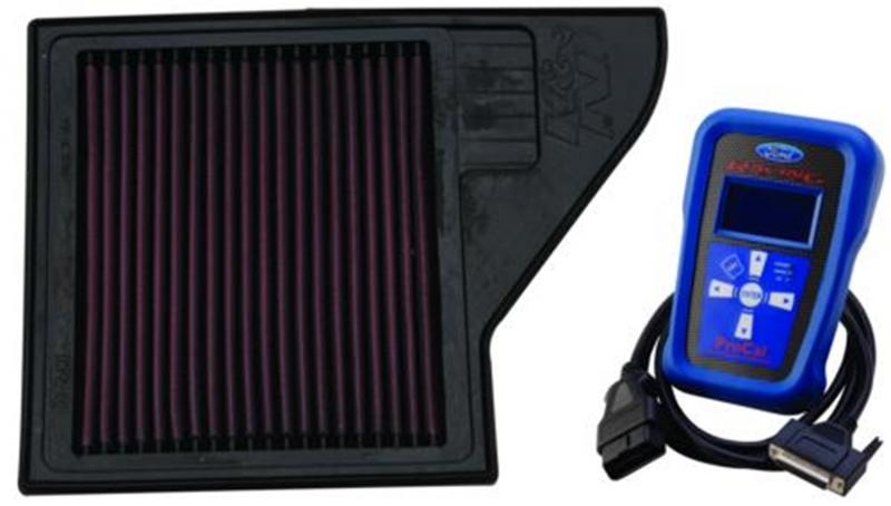 Ford Racing M-9603-MGTB Performance Calibration and High-Flow Air Filter Ford 5.0L V8