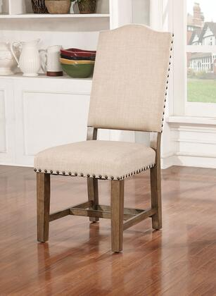 Julia Collection CM3014SC-2PK Side Chair (Set of 2) in Light